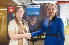 联合国儿童基金会为越南年轻人提供职业培训