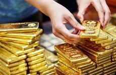 10月2日越南国内黄金价格上涨25万越盾