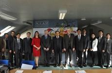 越南共产党代表团访问大不列颠及北爱尔兰联合王国