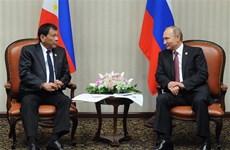 菲律宾加强与俄罗斯的国防安全合作