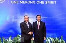 柬埔寨首相洪森访越:发展越柬睦邻友好、传统友谊、全面合作和长期稳定的关系