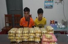 越老两国公安查获一起跨境贩毒案  缴获21.5万颗合成毒品