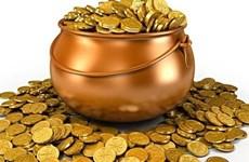 10月4日越南国内黄金价格上涨20万越盾