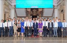 胡志明市领导人会见越南新任驻外使节代表团