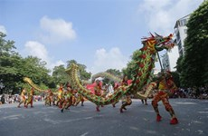 庆祝首都河内解放65周年的活动热闹举行
