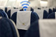 越航率先推出机上WiFi服务