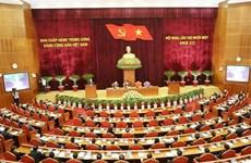 越南共产党第十二届中央委员会第十一次全体会议在河内隆重开幕