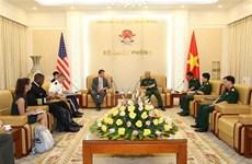 进一步推动越南与美国双边防务合作