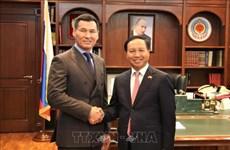 越南驻俄罗斯大使馆促进与卡尔梅克共和国的关系