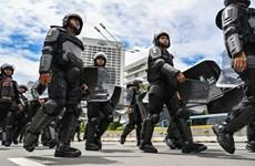 印尼警方挫败一起针对首都雅加达各购物中心的炸弹袭击阴谋