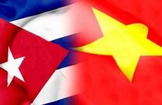 越南领导人向古巴领导人致贺电