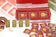 10月11日越南国内黄金价格大跌