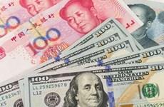 10月11日越盾对美元汇率中间价下调3越盾