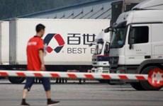 中国百世集团今日在越南胡志明市正式启动快递业务