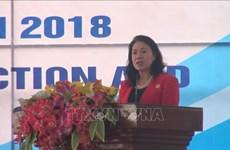 响应国际减灾日的集会在清化省举行