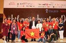越南学生参加国际青年发明大赛带2金1银载誉而归