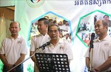 来越留学的柬埔寨往届生在柬埔寨金边举行见面会