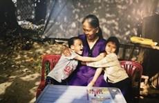 越南儿童的家庭梦