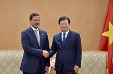 促进越南与阿联酋在新兴领域的投资合作
