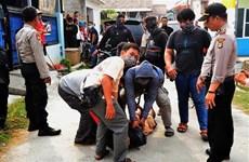 印尼总统佐科•维多多就职前印尼捣毁多起炸弹袭击阴谋
