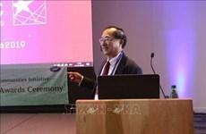 越南获得2019年亚太经合组织最佳实践奖银奖