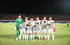 越南国足重返亚洲前15名