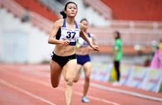 越南田径运动员黎绣征及其维护东南亚速度女王称号的目标