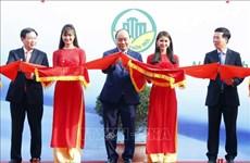阮春福总理出席新农村建设10年成就展开幕式