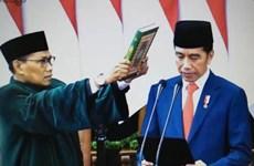 印尼总统佐科宣誓就职 越南国家副主席出席典礼