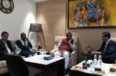 越南共产党代表团对印度进行工作访问