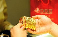 10月21日越南国内黄金价格略增