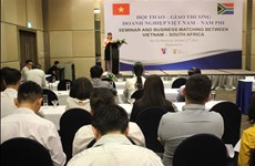 南非企业寻找在越南的经营合作机会