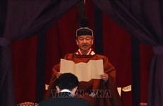 越南政府总理阮春福出席日本德仁天皇即位庆典