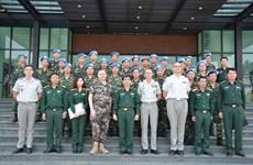 越法加强联合国维和行动领域的合作