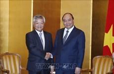 越南政府总理阮春福会见部分日本地方和组织领导