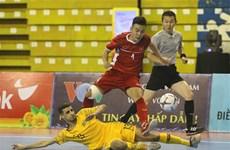 2019年HDBank杯东南亚室内五人制足球锦标赛开赛:越南队以2比0击败澳大利亚队