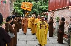 泰国王御赐袈裟布施仪式在河内举行