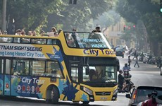 胡志明市即将启动双层敞篷观光巴士城市巡游
