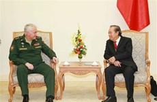 进一步推动越南与俄罗斯防务合作务实发展