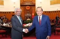 张和平副总理:联合国是越南对外政策的优先之一