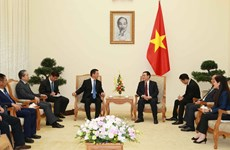 政府副总理王廷惠会见中国云南省委副书记王予波