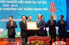陈国旺出席旅捷越南人协会成立20周庆典