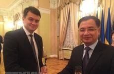 越南与乌克兰进一步加强立法与监督合作