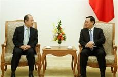 王廷惠副总理会见韩国外交部负责经济事务的副部长云康贤