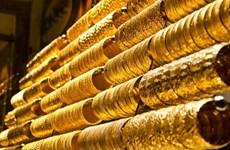 10月25日越南国内黄金价格上涨20万越盾