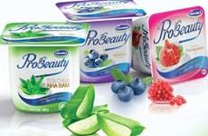 越南Vinamilk酸奶在中国Hema超市上架