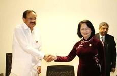 越南与印度将继续深化全面战略伙伴关系