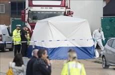 英国39人死亡事件:越南公安部参与核实有关信息