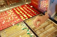10月28日越南国内黄金价格略增