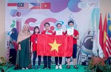 2019年国际科学竞赛:越南学生斩获4枚金牌